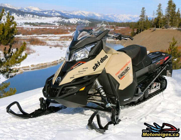Snowmobile Ski Doo Renegade Enduro 1200 4 Tec 2016